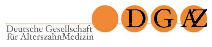 DGAZ Seniorenzahnmedizin Kiel